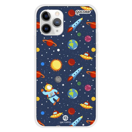 Capinha para celular Viajante Espacial Lunar