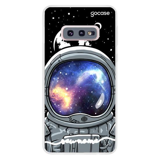 Capinha para celular Viajante Espacial