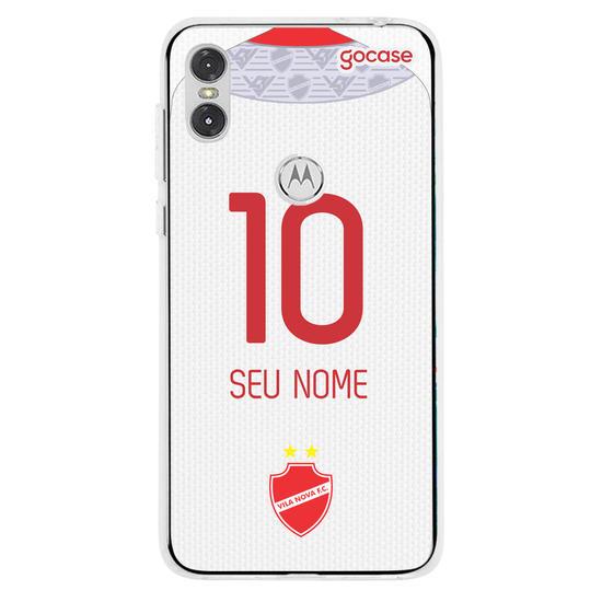 Capinha para celular Vila Nova - Uniforme 2 2020 Personalizado