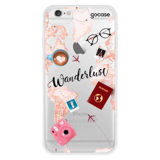 Capinha para celular World Trip Clean