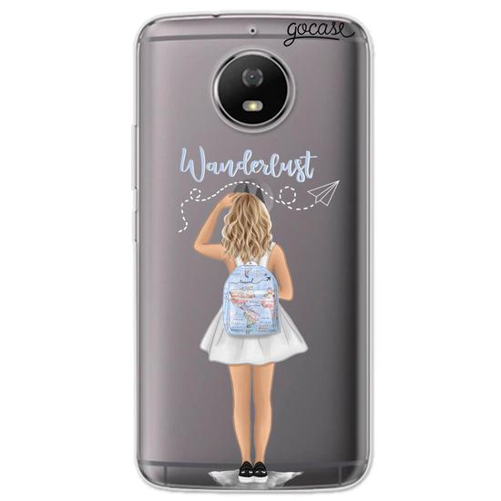 Capinha para celular Wanderlust - Garota Viajante