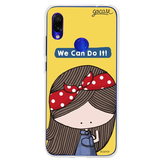 Capinha para celular We Can Do It