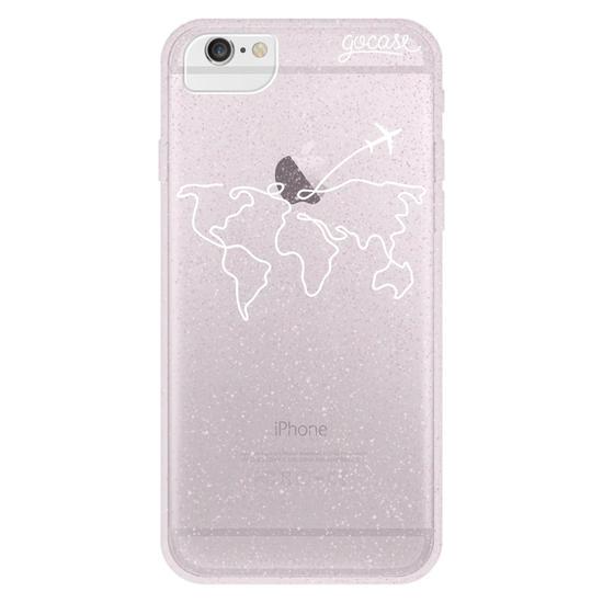 Capinha para celular World Travel (White)