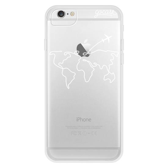 World Travel (White) Phone Case
