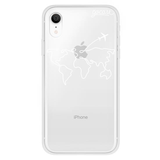 Capinha para celular World Travel (White)