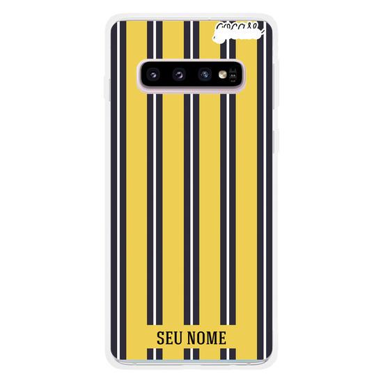 Capinha para celular Yellow Stripes