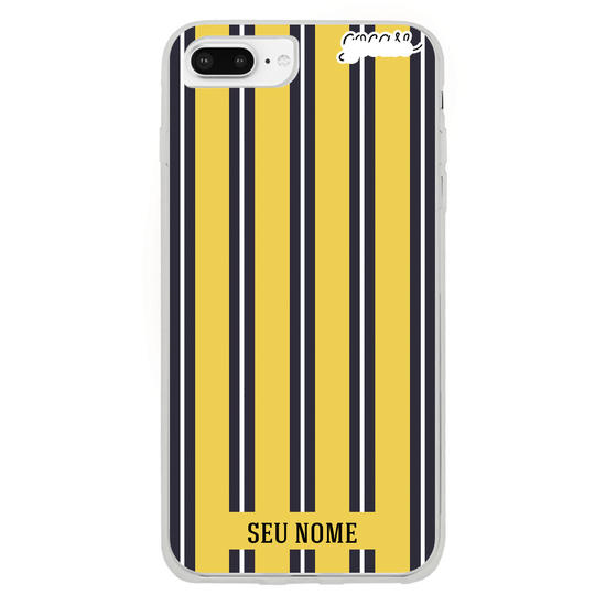 Capinha para celular Yellow Stripes