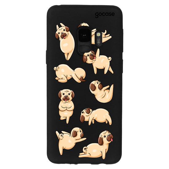 Capinha para celular Yoga do Pug