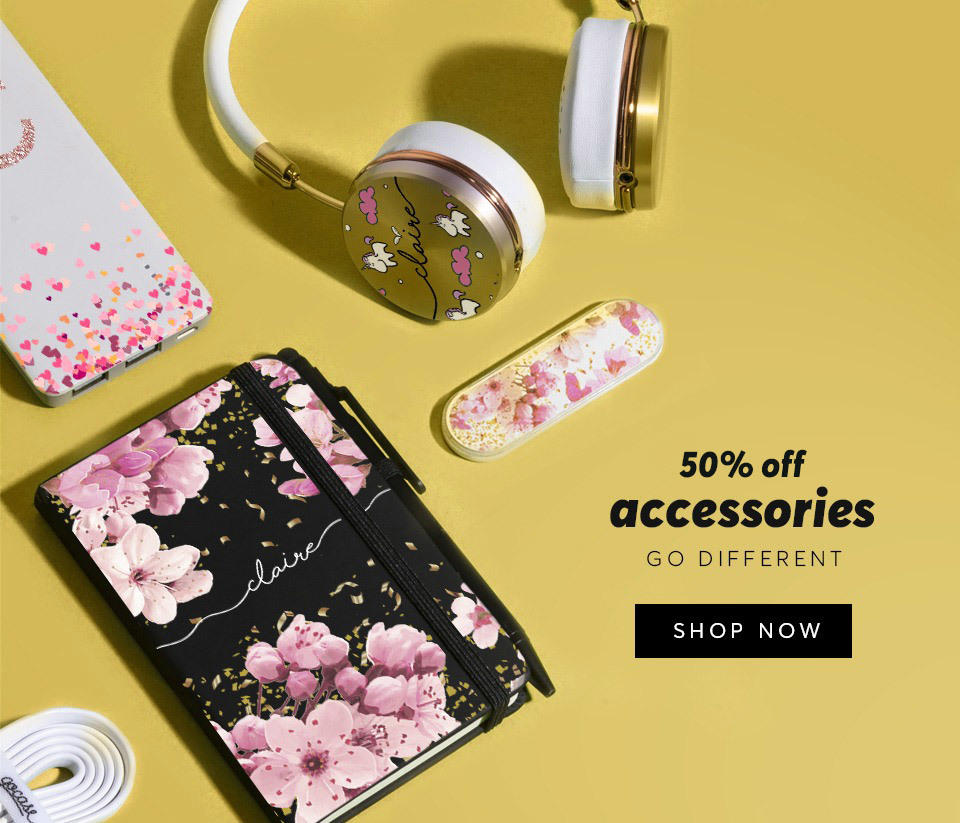 Acessories Outlet 50% OFF