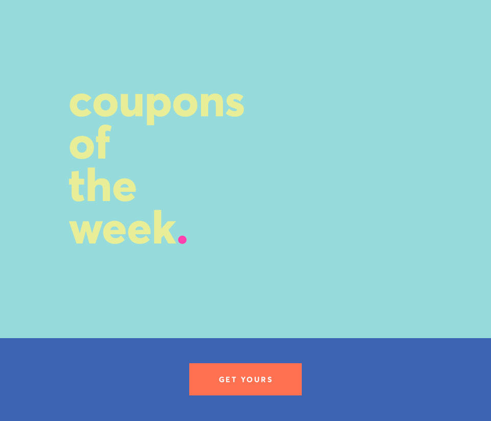 Coupons of the Week