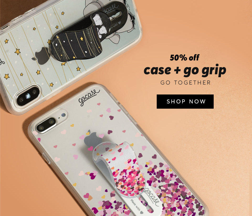 Case + Go Grips 50% OFF