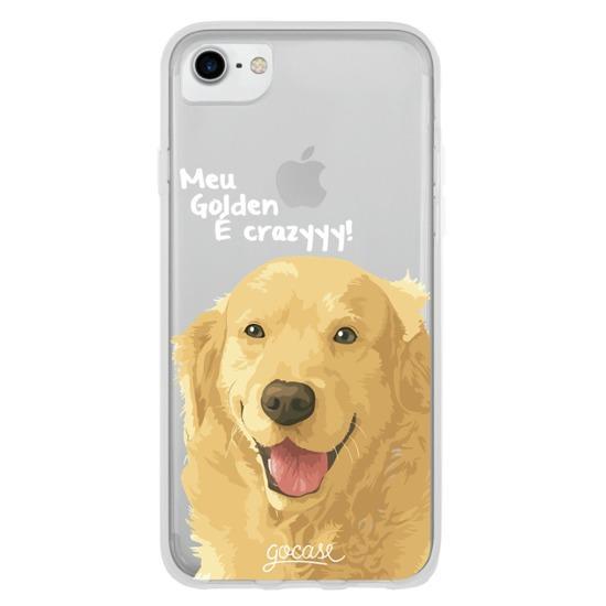 Capinha para celular Meu Golden é Crazyyy