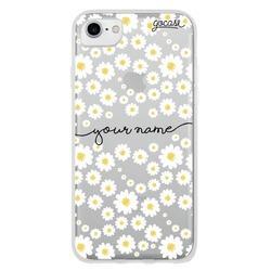 Daisies Handwritten Custom Phone Case