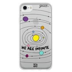Capinha para celular Somos Infinitos