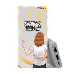 Carregador Portátil Power Bank (10000mAh) - Amizade (Gabie) by Depois das Onze