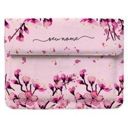 Capa para Notebook - Flor de Cerejeira Manuscrita