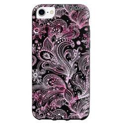 Black Case  Pink Watercolor Phone Case