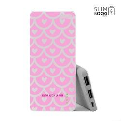 Power Bank Slim Portable Charger (5000mAh) - Pattern Love