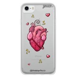 Capinha para celular Red Heart