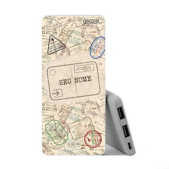 Carregador Portátil Power Bank Slim (5000mAh) - Passaporte