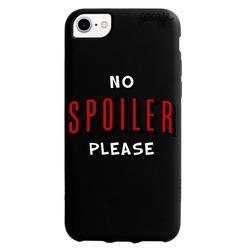 Capinha para celular Black Case No Spoiler