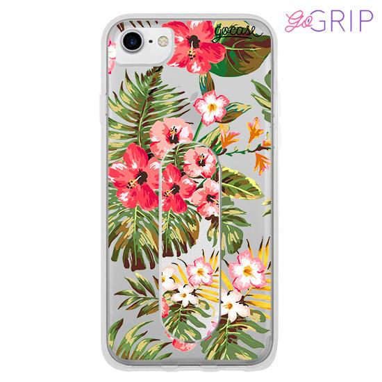 Kit Floral (Case + GoGrip)