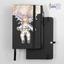 Sketchbook Black - Astronaut