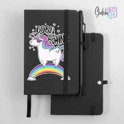 Sketchbook Black - Born to Shine
