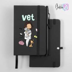 Sketchbook Black - Love Pets