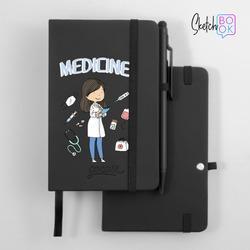 Sketchbook Black - Love Medicine