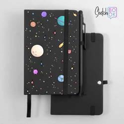 Sketchbook Black - Planets