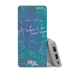 Carregador Portátil Power Bank (10000mAh) - A Culpa é do Signo by Bruna Vieira