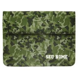 Capa para Notebook - Camuflagem Militar Personalizada