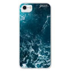 Capinha para celular Ondas do Oceano Customizável