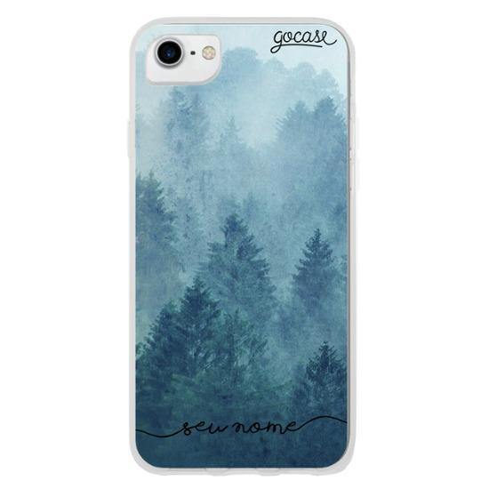 Capinha para celular Blue Forest Manuscrita