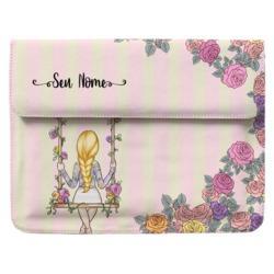 Capa para Notebook - BFF - Floral - Loira