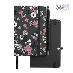 Sketchbook Black - Sketchbook Black - Lovely Floral