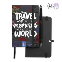 Sketchbook Black - Travel White