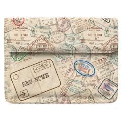 Capa para Notebook - Passaporte Personalizada