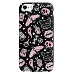 Black Case - Halloween Stickers Phone Case