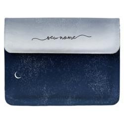 Capa para Notebook - Tons Noturnos Manuscrita
