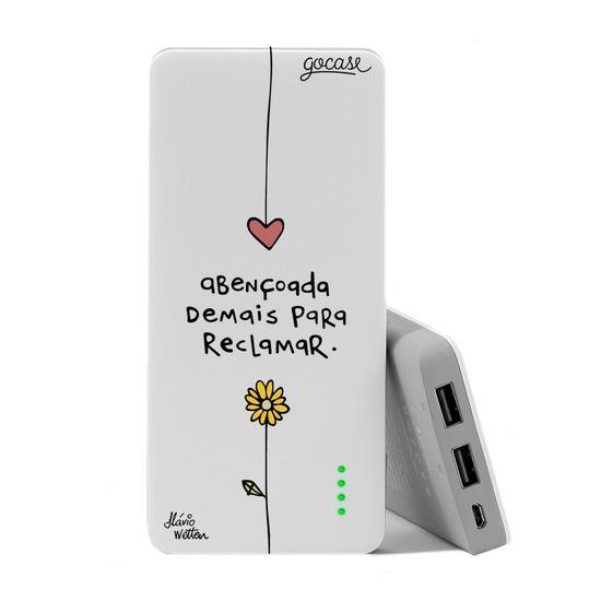 Carregador Portátil Power Bank (10000mAh) - Abençoa