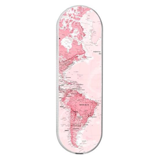 Gogrip - Mapa Mundi Rosa