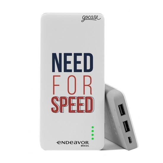 Carregador Portátil Power Bank (10000mAh) - Endeavor - Need For Speed