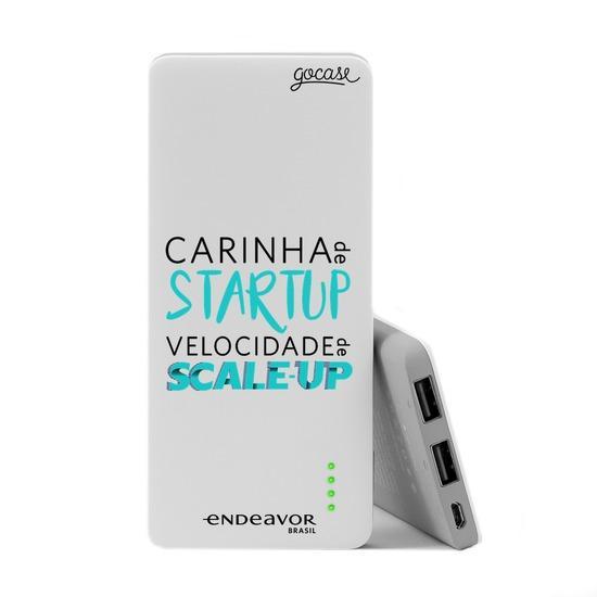 Carregador Portátil Power Bank Slim (5000mAh) - Endeavor - Carinha de Startup