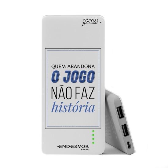 Carregador Portátil Power Bank Slim (5000mAh) - Endeavor - Faz História