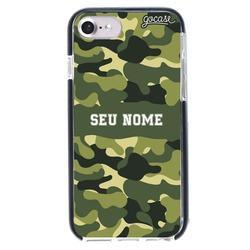 Capinha para celular Anti-Impacto PRO - Camuflagem Militar Personalizada