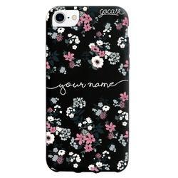 Black Case  Lovely Floral  Phone Case