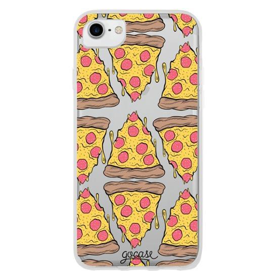 Capinha para celular Pizza