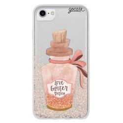 Capinha para celular Love Glitter Potion
